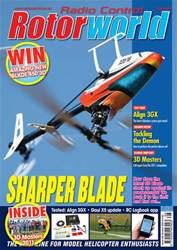 Radio Control Rotor World Magazine Cover