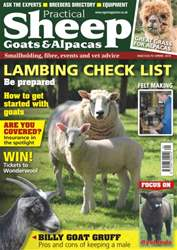 No.8 Lambing Check List issue No.8 Lambing Check List