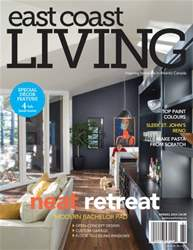 East Coast Living Magazine Cover