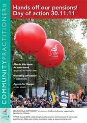 Community Practitioner January 2012 issue Community Practitioner January 2012