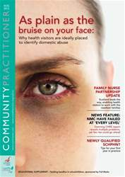 Community Practitioner August  2012 issue Community Practitioner August  2012