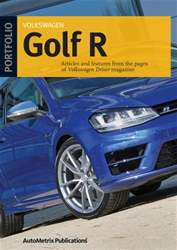 Golf R Portfolio issue Golf R Portfolio