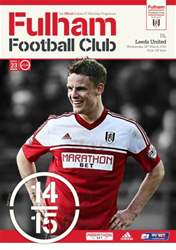 Fulham Vs. Leeds United 2014-15 issue Fulham Vs. Leeds United 2014-15