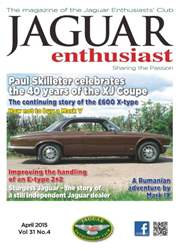 Vol.31 No.4 40 Years of the XJ Coupe issue Vol.31 No.4 40 Years of the XJ Coupe