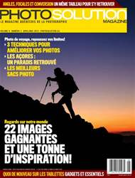 Photo Solution Avril-Mai 2015 issue Photo Solution Avril-Mai 2015
