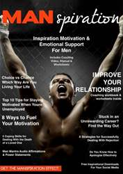 MANspiration Magazine Magazine Cover