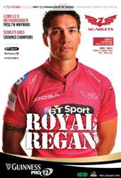 Scarlets v Edinburgh issue Scarlets v Edinburgh