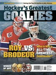 Hockey's Greatest Goalies 2015 issue Hockey's Greatest Goalies 2015