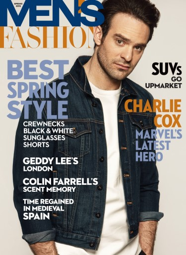 Fashion Magazines In China: MENS FASHION SPRING 2015 Subscriptions