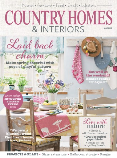 Country Homes Interiors Magazine May 2015 Subscriptions Pocketmags
