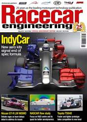 Racecar Engineering Magazine Cover