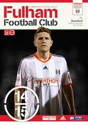 Fulham Vs. Brentford 2014-15 issue Fulham Vs. Brentford 2014-15