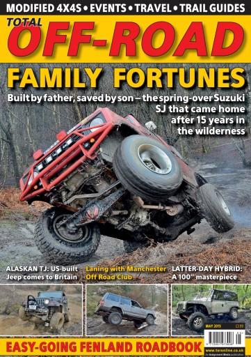 4x4 magazine incorporating total off road may 2015 subscriptions pocketmags. Black Bedroom Furniture Sets. Home Design Ideas
