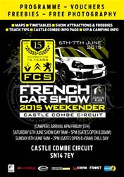 French Car Show 2015 Official Show Guide issue French Car Show 2015 Official Show Guide