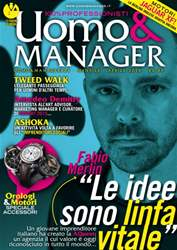 Uomo&Manager Aprile issue Uomo&Manager Aprile