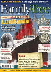 Family Tree May 2015 issue Family Tree May 2015