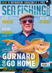 Sea Fishing Magazine Magazine Cover