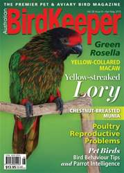 BirdKeeper Volume 28, Issue 8 issue BirdKeeper Volume 28, Issue 8