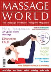 Massage World Issue 87 issue Massage World Issue 87