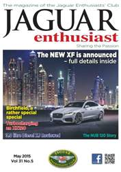 Vol.31 No.5 The New XF is Announced issue Vol.31 No.5 The New XF is Announced