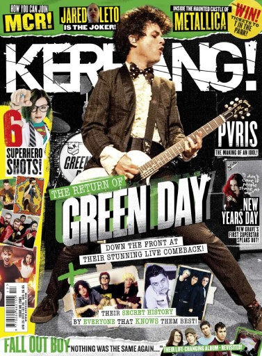 Kerrang Magazine - 25th April 2015 Subscriptions | Pocketmags