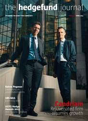 The Hedge Fund Journal Magazine Cover
