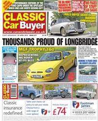 No.276 Thousands Proud of Longbridge issue No.276 Thousands Proud of Longbridge