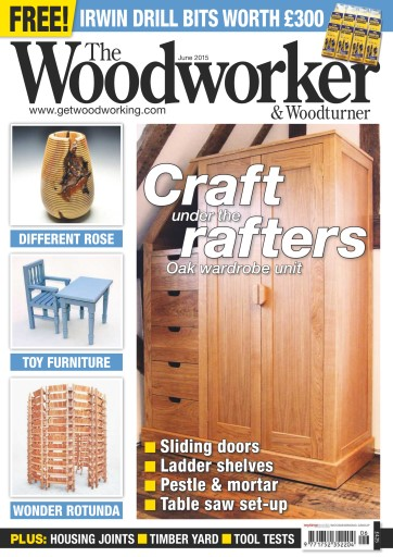 The Woodworker Magazine June 2015 Subscriptions Pocketmags