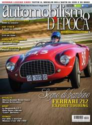 Automobilismo d'Epoca 5 2015 issue Automobilismo d'Epoca 5 2015