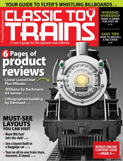 Classic Toy Trains Preview