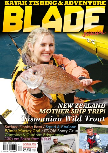 Blade Kayak Fishing Journal Digital Issue