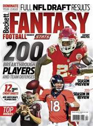 Fantasy Football Summer 2014 issue Fantasy Football Summer 2014