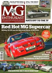 Vol.45 No.6 Red Hot MG Supercar! issue Vol.45 No.6 Red Hot MG Supercar!