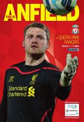 Liverpool v QPR 2014/15 issue Liverpool v QPR 2014/15