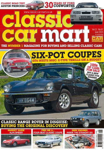 Classic Car Mart Digital Issue