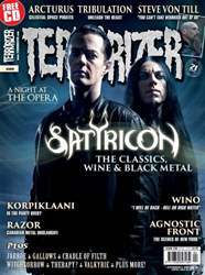 Terrorizer 259 issue Terrorizer 259