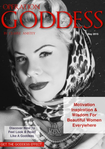 Operation Goddess by Claire Anstey Preview