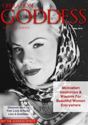 Operation Goddess by Claire Anstey Magazine Cover