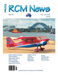 Radio Control Model News Magazine Cover