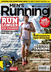 Men's Running Magazine Cover