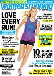 Women's Running Magazine Cover