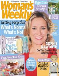 Womans Weekly Magazine Cover