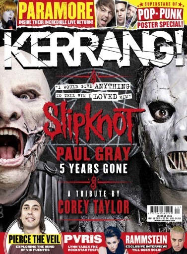 Kerrang Magazine - 16th May 2015 Subscriptions | Pocketmags
