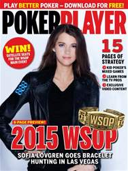 May 2015 WSOP Special issue May 2015 WSOP Special
