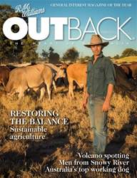 OUTBACK 101 issue OUTBACK 101